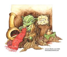 yoda knits by katiecandraw