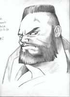 Barret Wallace by Vladsnake