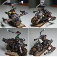 Ork warbike by Snowfyre