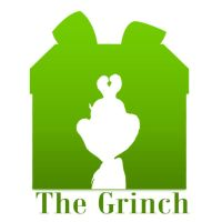 The Grinch Silhouette by 4and4