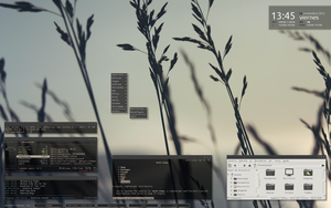 Archlinux / OpenBox by pnthr