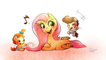 MLP - Baby Cakes Time by Phyllismi