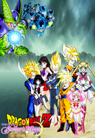 Dragon Ball Z and Sailor Moon - Cell Games by dbzandsm