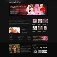 ruffle my feathers website by ijographicz