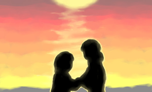 Sunset with Someone Special by Verdot