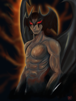 Devilman by thegeeklady