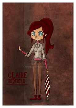 Claire Redfield RE Degeneration by VickyxRedfield