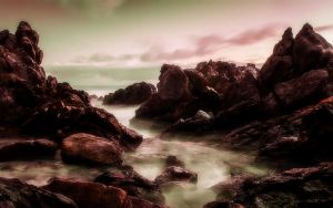 This Rocky Coast by welshdragon