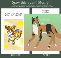 DappleLeaf - Before and After by Burnt-X3