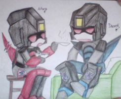 Even Decepticons can get sick by ayekakira