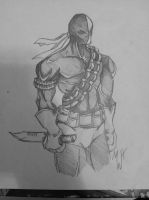 Deathstroke by mharvison