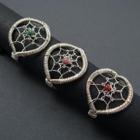 Dreamcatcher Rings by sylva