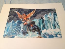 Percy Jackson: Son of Neptune Watercolor by iSLY
