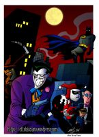 Batman Adventures - colored by EttoBascianoWorks