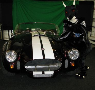 Posing with the 1965 Shelby Cobra by Nightdragon0