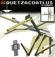 JurassiCraft: Quetzacoatlus by Dragonith