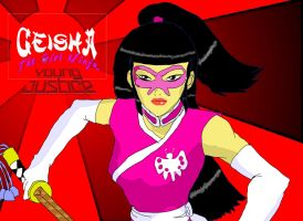 Young Justice Geisha pic 2 by KiteBoy1