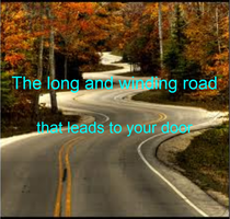 The Long and Winding Road Graphic by sasukeissohot97