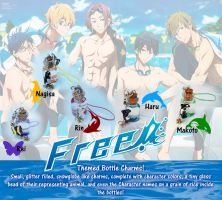 Free! Themed Charms by Auffallend