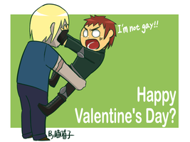 Happy Valentine's Day_Paul+Teddy by aulauly7
