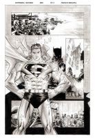 Superman Batman pg 3 by manapul