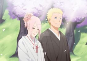 narusaku | promise you'll always be happy by iwaki-san