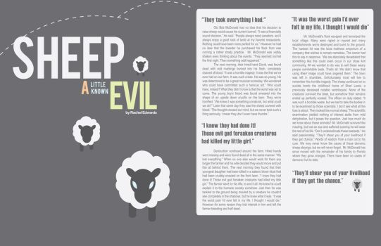 Sheep, a little known evil by marimayhem