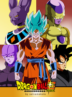 DRAGON BALL SUPER SAGAS by salvamakoto