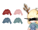 cropped sweaters by confuzzledshit