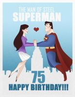 Happy Super 75th B-Day by SiliceB
