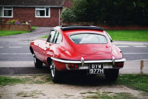 E-Type Jaguar 4.2 by FurLined