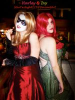 Harley and Ivy:Bestest Friends by Damek0Masca