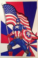 Captain America by LeeChandler