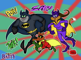 Going Batty: AstroBat by Granitoons