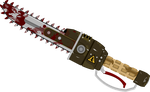 Fallout Equestria Weapons - Ripper by Skrollz