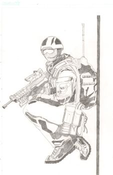Soldier by Qualotesh