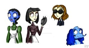 CB Fan Characters by Madame-Kikue