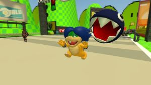 Ludwig 3D misadventures: Chain Chomp chase redux by Aso-Designer