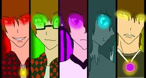 Team Corrupted Headshots by Katythecat123