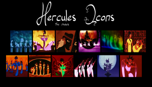 Hercules Icons - THE MUSES by SuperNova-Thai