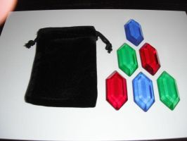 Rupee Set - Adult's Wallet by ChinookCrafts