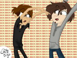 BROS BROS BROS BROS BROS BROS by WhiteBAG