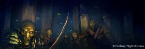 The Infested Halls by Cristi-B