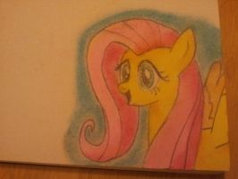 Fluttershy Pastel by Tshirting