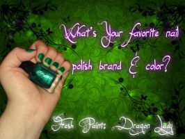 What Nail Polish Brand And Color Do You Have On? by SupernovaSword