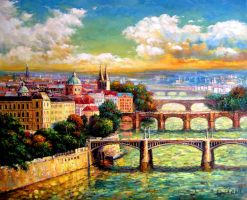 Beautiful Prague by ArtistDanielWall