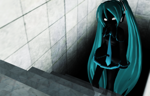 _MMD_ I came from the darkness by xXHIMRXx
