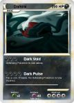 Darkrai Pokemon Card by lorddrega