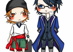 SaruMi Chibi Animated :D by RitterZaki