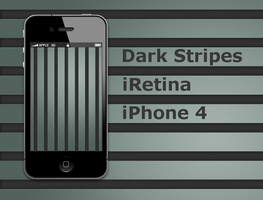 Dark Stripes iPhone 4 wall by biggzyn80
